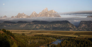 Tetons Royalty Free Stock Photography