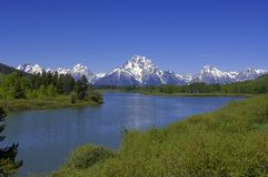 Tetons Royalty Free Stock Images