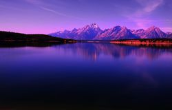 Tetons Stock Photo