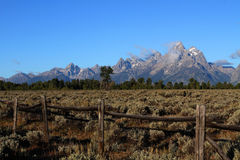 Tetons grand Images libres de droits