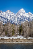 Tetons grand Image stock