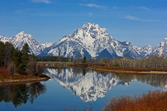 The Tetons royalty free stock images