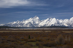 Tetons grands Photo libre de droits