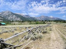 Tetons grands Images stock