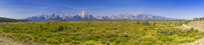 Tetons mountain Royalty Free Stock Images