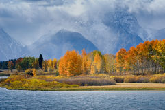 Tetons Vista Royalty Free Stock Photos