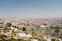 Tetouan stadsmitt, Marocko, Afrika Arkivfoto
