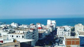 Tetouane, Medeyq北非 图库摄影
