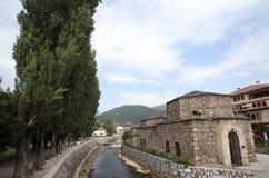 Tetovo, bain de tabouret, Macédoine Photos libres de droits