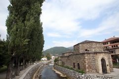 Tetovo, Osmanebad, Mazedonien Lizenzfreie Stockfotos
