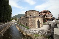 Tetovo, Ottomanebad, Macedonië Stock Fotografie