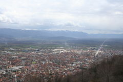 Tetovo and The Polog Valley Stock Photo