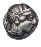 Tetradrachm of Athens, IV century BC Royalty Free Stock Photography