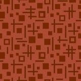 Tetragonaal naadloos patroon Royalty-vrije Stock Foto