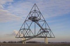 Tetrahedron. Germany, Bottrop,City landmark of the city Royalty Free Stock Photo
