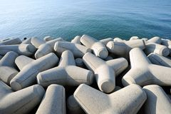 Tetrapods Stock Photo