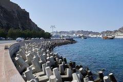 Tetrapods concretos usados para a proteção litoral Imagens de Stock Royalty Free