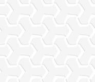 tetrapods 3D abstratos brancos Fotografia de Stock