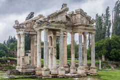 Tetrapylon Aphrodisias Turkey Stock Photo