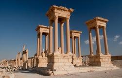 Tetrapylon in Palmyra Royalty Free Stock Image