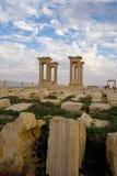 Tetrapylon in Palmyra Syrië Royalty-vrije Stock Foto's