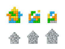 Tetris Royalty Free Stock Images