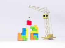 tetris 免版税图库摄影
