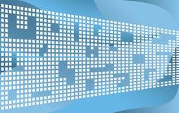 Tetris-achtergrond Royalty-vrije Stock Afbeeldingen