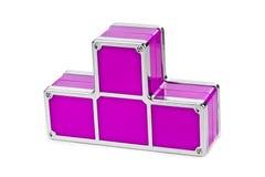 Tetris-Bauklötze Lizenzfreie Stockbilder