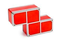 Tetris-Bauklötze Stockfotos
