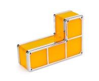 Tetris-Bauklötze Stockfoto