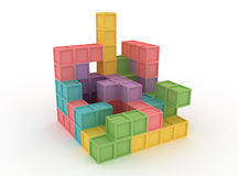 Tetris blocks Stock Images