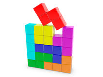Tetris Blocks Royalty Free Stock Photos