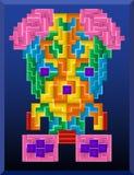 Tetris draagt stock illustratie