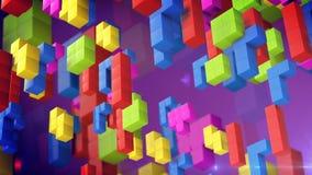 Tetris game. Stock Photo