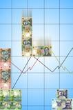 Tetris-Geld Lizenzfreie Stockbilder