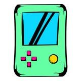 Tetris icon, icon cartoon Stock Image