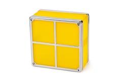 Tetris toy blocks Royalty Free Stock Photos
