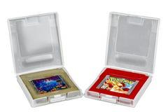 Tetris u. Pokemon Game Boy Lizenzfreie Stockfotos