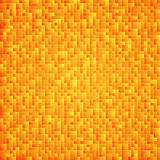 Tetris yellow abstract background. Pattern from different parts. Game backdrop Royalty Free Stock Photography