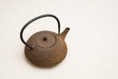 Tetsubin-Roheisen-Teekanne Lizenzfreie Stockfotografie