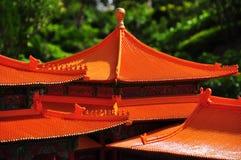 Tetti cinesi del Pagoda Immagine Stock Libera da Diritti