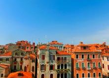 Tetti della città a Venezia, Italia Immagini Stock