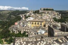 Tetti della Sicilia Immagini Stock Libere da Diritti