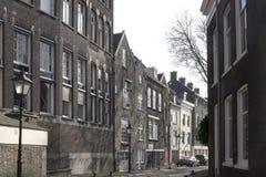 Tetti delle costruzioni d'annata a Rotterdam Fotografie Stock