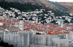 Tetti di Dubrovnik Fotografie Stock