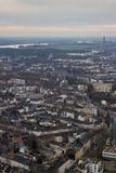 Tetti di Dusseldorf Germania Immagini Stock