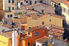 Tetti di Firenze Fotografie Stock Libere da Diritti