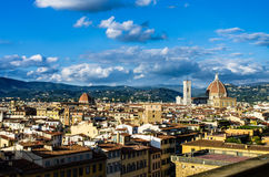 Tetti di Firenze 4 fotografie stock