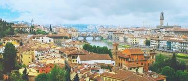 Tetti di Firenze Fotografia Stock Libera da Diritti